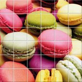 Fliesenaufkleber Macarons