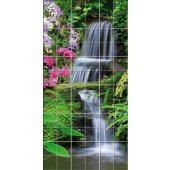 Fliesenaufkleber Wasserfall