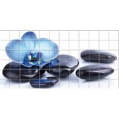 Flower Pebbles - Tiles Wall Stickers