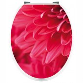 Flowers - Toilet Seat Decal Sticker