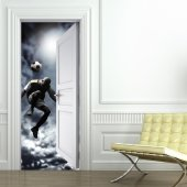 Footballer Door Stickers