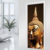 Fototapet pentru usa Buddha Aur