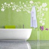 Haken-Wandtattoo Blume