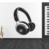 Headphones Wall Stickers
