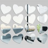 Hearts - Decorative Mirrors Acrylic