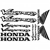 Honda varadero Aufkleber-Set