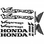 Honda varadero XL 1000v Decal Stickers kit