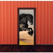 Horse Door Stickers