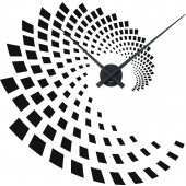Illusion Clock Wall Stickers