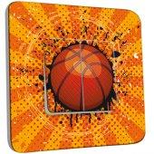 Interrupteur Décoré Double va et vient Basket-Ball 1