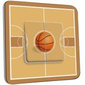 Interrupteur Décoré Double va et vient Basket-Ball