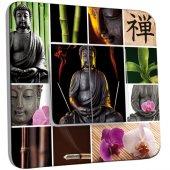 Interrupteur Décoré Double va et vient Bouddha Zen 4