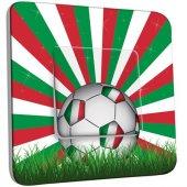 Interrupteur Décoré Poussoir Ballon de foot Design