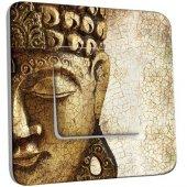Interrupteur Décoré Poussoir Bouddha 3