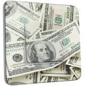 Interrupteur Décoré Poussoir Dollars AmericainsZoom