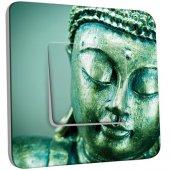 Interrupteur Décoré Poussoir Tête de Bouddha Zoom