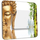 Interrupteur Décoré Simple Bouddha 1