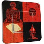 Interrupteur Décoré Simple  Bouddha Peinture