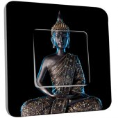 Interrupteur Décoré Simple Bouddha  Zen 3