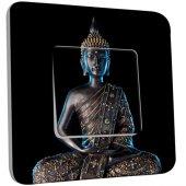Interrupteur Décoré Simple Bouddha  Zen 3