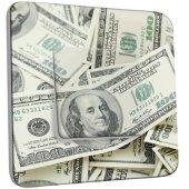 Interrupteur Décoré Simple Dollars AmericainsZoom