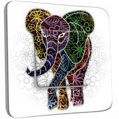 Interrupteur Décoré Simple Eléphant