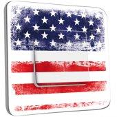 Interrupteur Décoré Simple Etats Unis