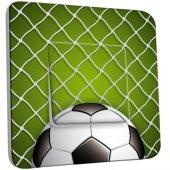 Interrupteur Décoré Simple Football Zoom