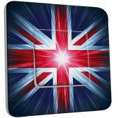 Interrupteur Décoré Simple London Drapeau Design
