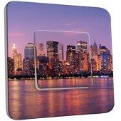 Interrupteur Décoré Simple New York Color