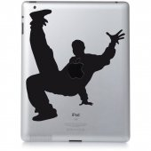 iPad 2 Aufkleber Hip Hop