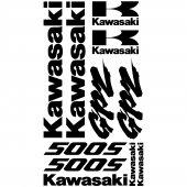 Kawasaki GPZ 500s Aufkleber-Set
