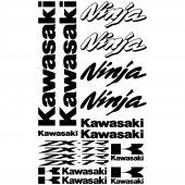 Kawasaki Ninja ZX-7r Aufkleber-Set