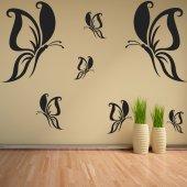 Kit Adesivo Murale 17   farfalle
