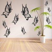 Kit Adesivo Murale 22   farfalle