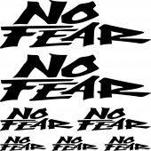 kit pegatinas no fear