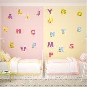 Autocollant kit Stickers alphabet