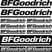 Kit stickers Bf goodrich