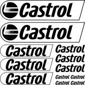 Kit stickers castrol