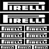 Kit stickers pirelli