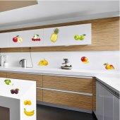 Kit Vinilo decorativo  11 frutas