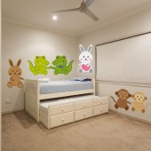 Kit Vinilo decorativo infantil 6 animales