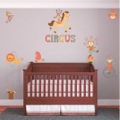 Kit Vinilo decorativo infantil circo
