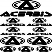 Komplet naklejek - Acerbis