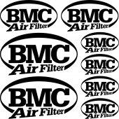 Komplet naklejek - BMC