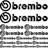 Komplet naklejek - Brembo