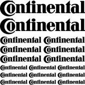 Komplet naklejek - Continental