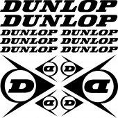 Komplet naklejek - Dunlop
