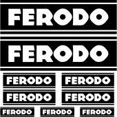 Komplet  naklejek  - Ferodo