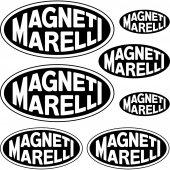 Komplet  naklejek - Magneti Marelli